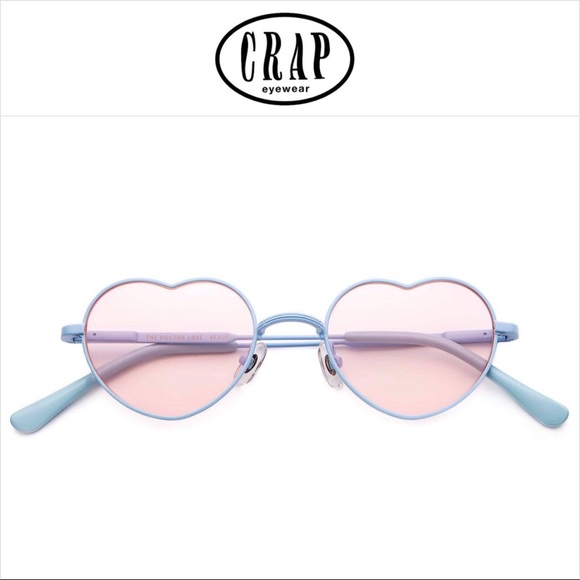 2ab85f4c5c88 Crap Eyewear The Doctor Love Heart Sunglasses